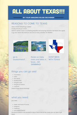 ALL ABOUT TEXAS!!!