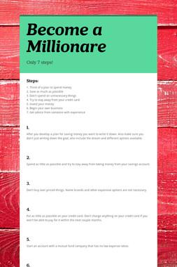 Become a Millionare