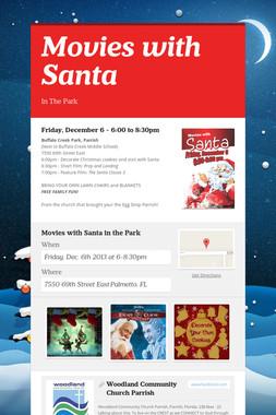 Movies with Santa