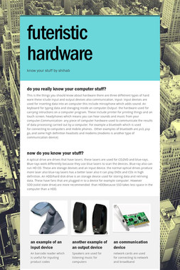 futeristic hardware