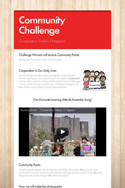 Community Challenge