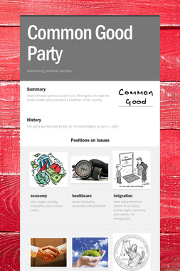Common Good Party