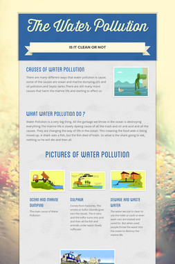 The Water Pollution