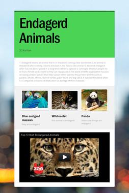 Endagerd Animals