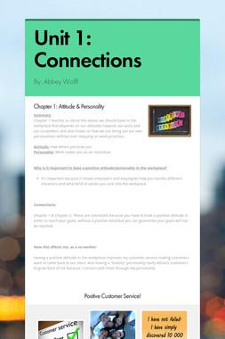 Unit 1: Connections