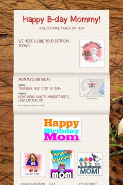 Happy B-day Mommy!