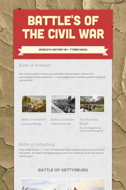 Battle's of the Civil war