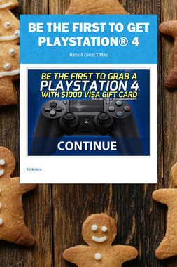 Be the first to get  Playstation® 4