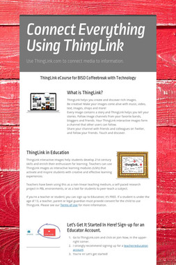 Connect Everything Using ThingLink