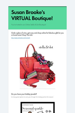 Susan Brooke's VIRTUAL Boutique!