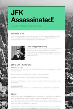 JFK Assassinated!