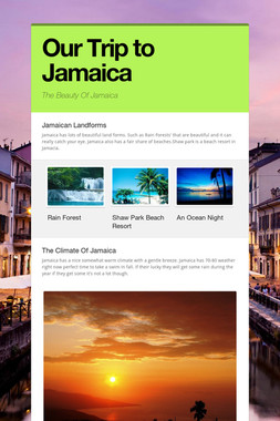 Our Trip to Jamaica