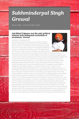 Sukhminderpal Singh Grewal