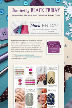 Jamberry BLACK FRIDAY