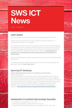 SWS ICT News