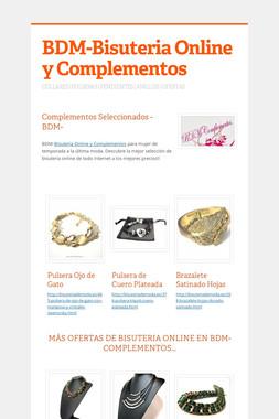 BDM-Bisuteria Online y Complementos