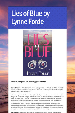 Lies of Blue by Lynne Forde