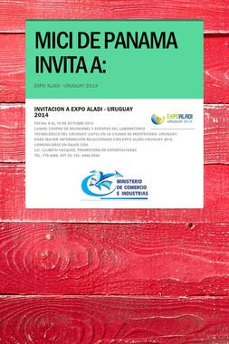 MICI DE PANAMA INVITA A:
