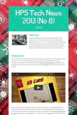 HPS Tech News 2013 (No 8)