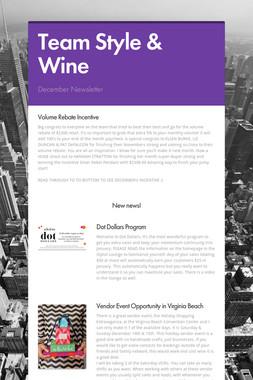 Team Style & Wine