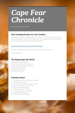 Cape Fear Chronicle
