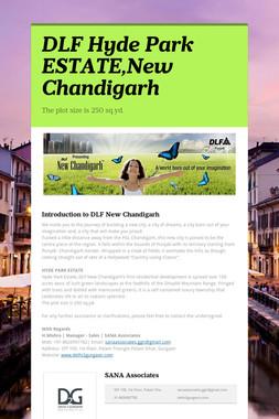 DLF Hyde Park ESTATE,New Chandigarh