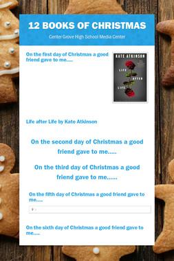 12 Books of Christmas