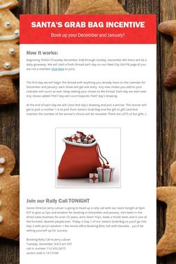 Santa's Grab Bag Incentive