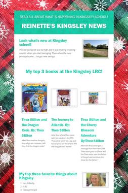 Reinette's Kingsley News