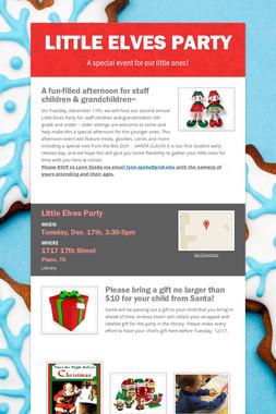 Little Elves Party