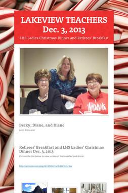 LAKEVIEW TEACHERS  Dec. 3, 2013