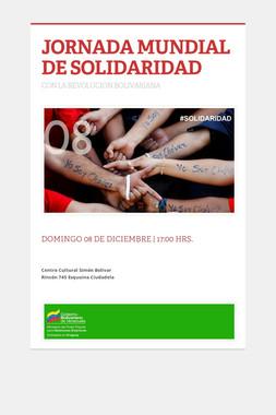 JORNADA MUNDIAL DE SOLIDARIDAD