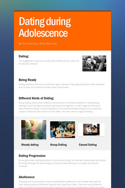 Dating during Adolescence
