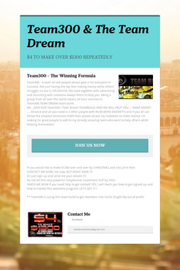 Team300 & The Team Dream