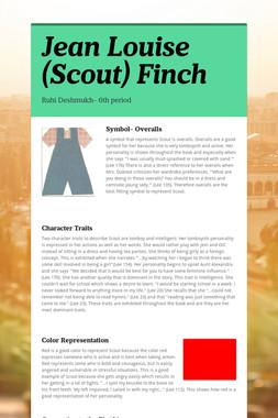 Jean Louise (Scout) Finch