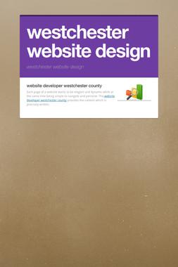 westchester website design
