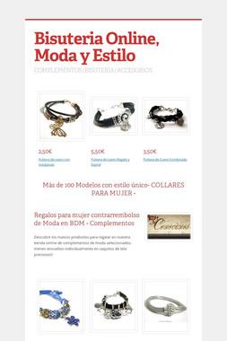 Bisuteria Online, Moda y Estilo