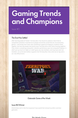 Gaming Trends and Champions