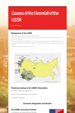 Causes of the Downfall of the USSR
