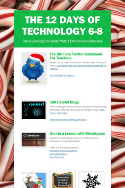 The 12 Days of Technology 6-8