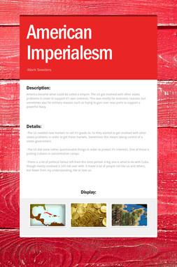 American Imperialesm