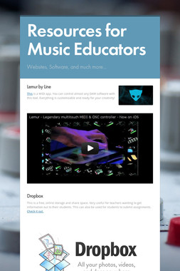 Resources for Music Educators