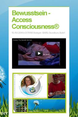 Bewusstsein - Access Consciousness®