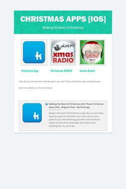 Christmas Apps [iOS]