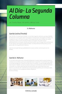 Al Día- La Segunda Columna
