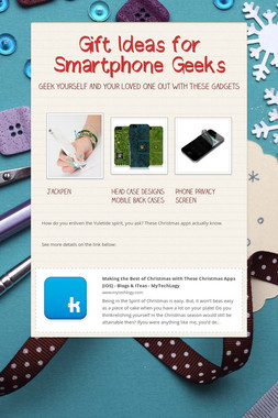 Gift Ideas for Smartphone Geeks