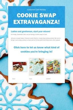 Cookie Swap Extravaganza!