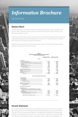 Informative Brochure