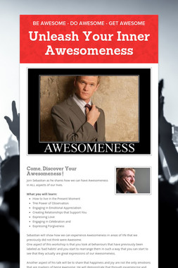 Unleash Your Inner Awesomeness
