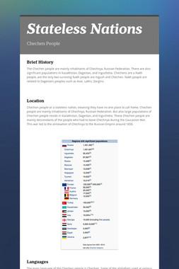 Stateless Nations
